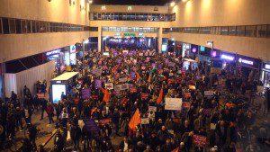 הפגנה בתל אביב 4.2.2017