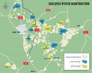 Negev-Map